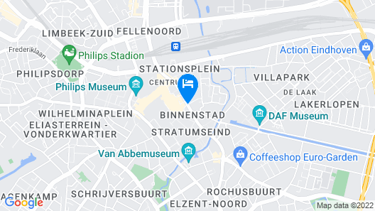 Pullman Eindhoven Cocagne Map