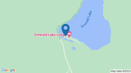 Emerald Lake Lodge Map