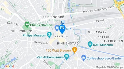 Crown Hotel Eindhoven Centre Map