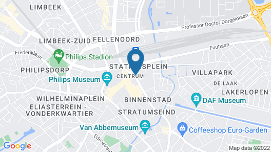 NH Collection Eindhoven Map
