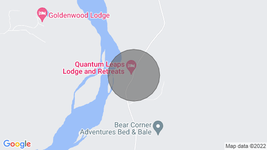 Goat Mountain Cabin in the Beautiful Blaeberry Valley Map