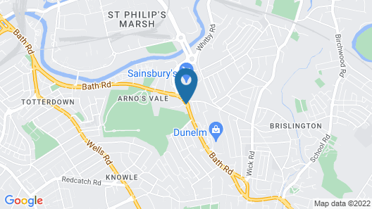 Arnos Manor Hotel Map