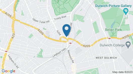 Tulse Hill Map