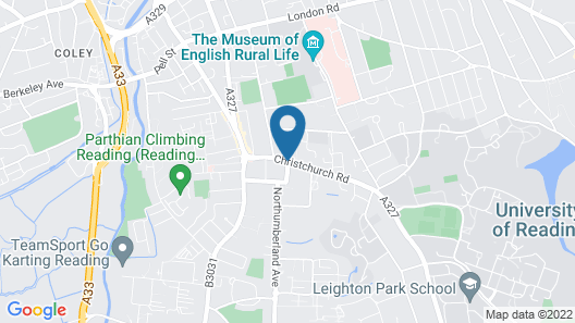 Sure Hotel by Best Western Reading Map