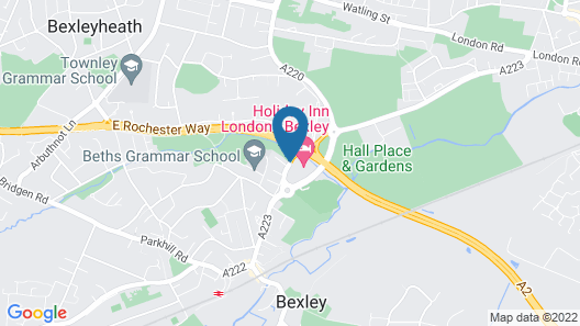 Holiday Inn London-Bexley Map