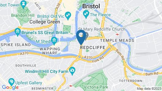 Mercure Bristol Holland House Map