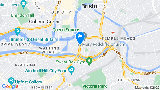 Mercure Bristol Holland House Map
