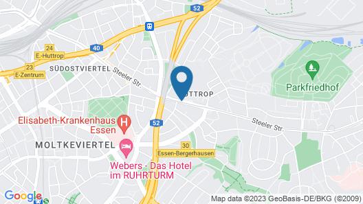 TOP EMBRACE Hotel Franz Essen Map