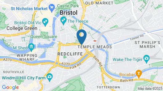Holiday Inn Express Bristol City Centre Map