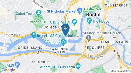 YHA Bristol - Hostel Map
