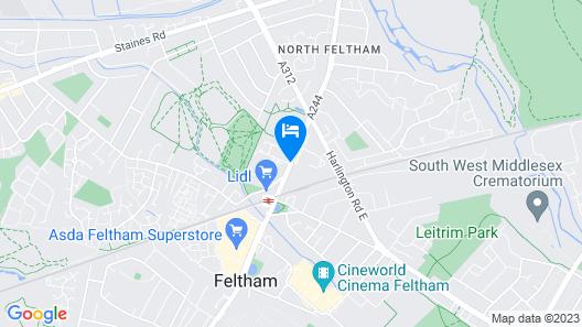 St Giles Heathrow - A St Giles Hotel Map