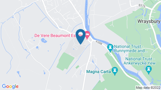 De Vere Beaumont Estate Map