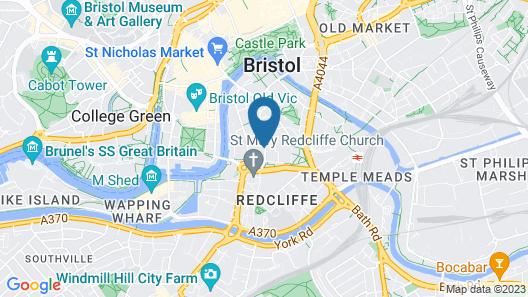 PREMIER SUITES Bristol Redcliffe Map