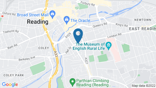 Reading Serviced Apartments Map