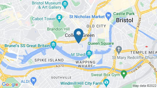 ibis Bristol Centre Map