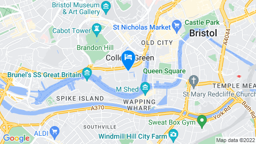 ibis Bristol Centre Map