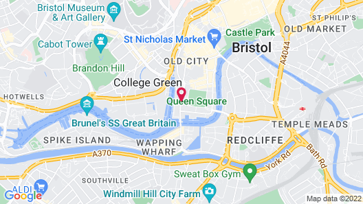 The Bristol Hotel Map