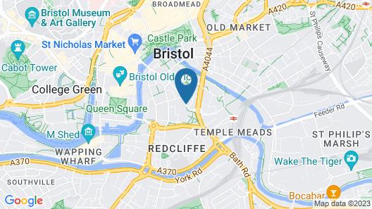 Novotel Bristol Centre Map