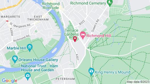 Petersham Hotel Map