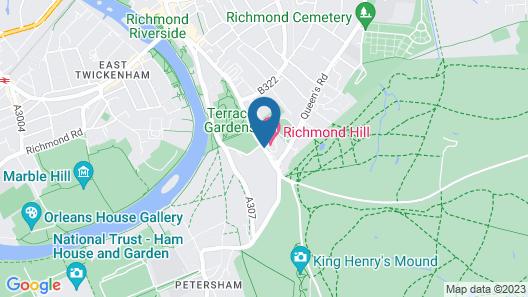 Richmond Hill Hotel Map