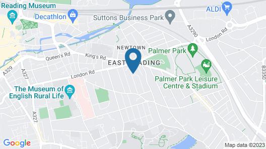Laurel House Map