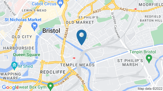 ibis Bristol Temple Meads Quay Map