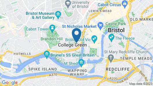 Bristol Marriott Royal Hotel Map