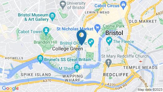 SACO Bristol - Broad Quay Map