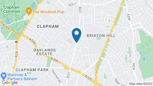 OYO Homes Clapham Shared Map