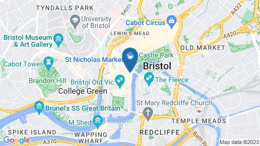 SACO Bristol - West India House Map