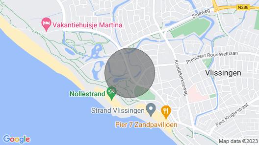 Appartement - Burg. van Woelderenlaan 100-2   Vlissingen Map