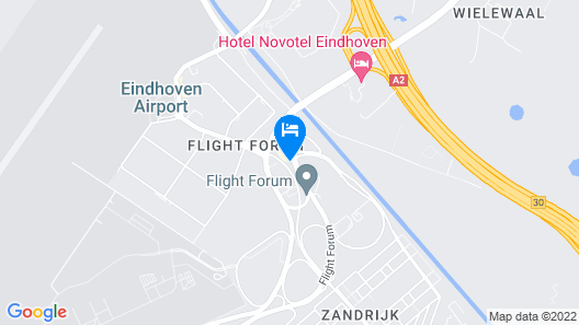 Holiday Inn Eindhoven Airport Map