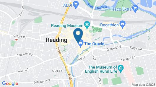 PREMIER SUITES Reading Map