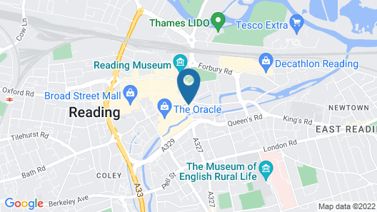 ibis Styles Reading Centre Map