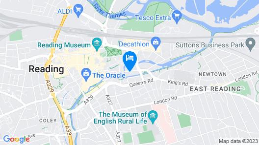 Kings Road Apartment 2 Map