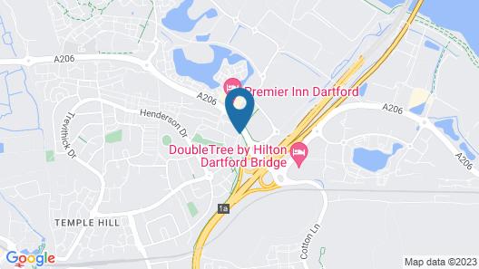 Holiday Inn Express London - Dartford Map