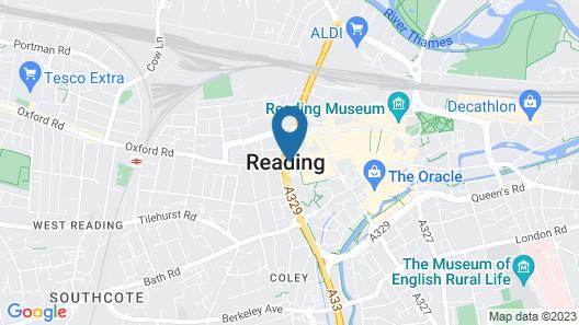 pentahotel Reading Map