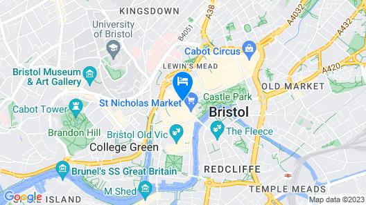 Mercure Bristol Grand Hotel Map