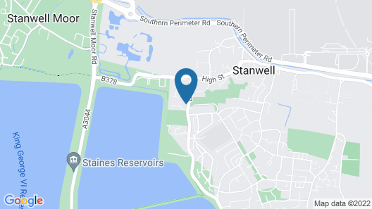The Stanwell Heathrow Map
