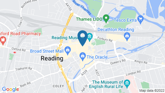 VICTORIA HOUSE by Q Apartments Map