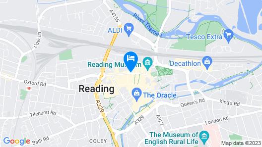 Novotel Reading Centre Map