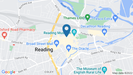 ibis Reading Centre (new ibis rooms) Map