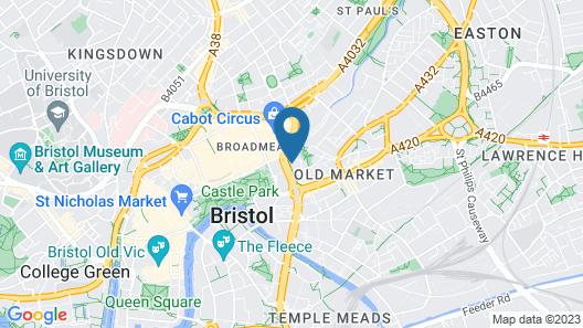 Popup Bristol Map