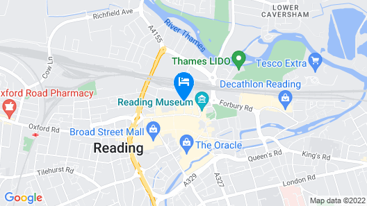 Malmaison Reading Map