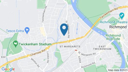 Twickenham Comfort Map
