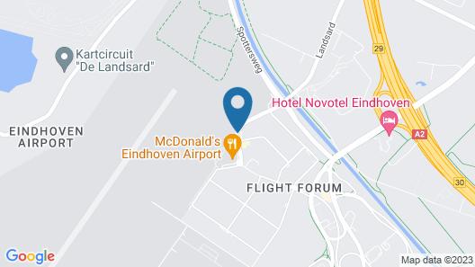 Tulip Inn Eindhoven Airport Map