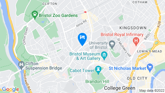 Clifton Hotel Map