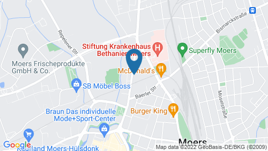 Hotel Dormir Map