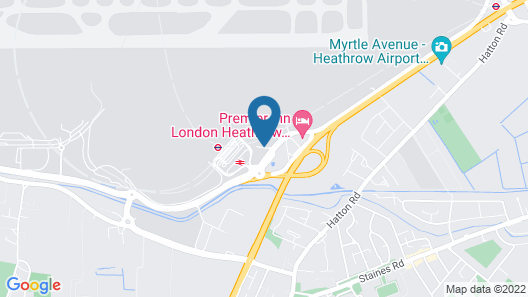 Holiday Inn Express London Heathrow T4 Map
