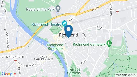Travelodge London Richmond Central Map